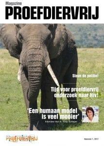 Proefdiervrij magazine lente editie