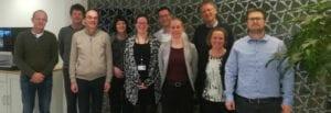groepsfoto proefdervij, TNO en galapgos bij ondertekening samenwerkingsovereenkomst