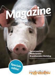 Voorkant speciale editie Brandwonden Stichting